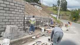 Trabajo de construcció Múlti  Servicio