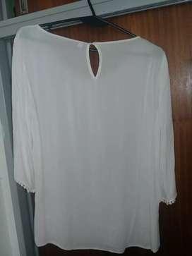 Camisa blanca talle 42