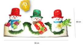 NAVIDAD Tabla nieve navideña