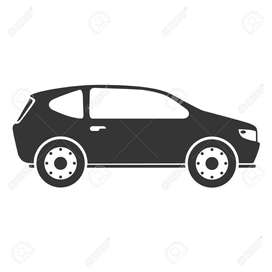 conductor con vehiculo y papeles al dia