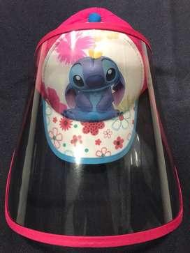 Gorras con careta para niño
