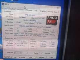 Oferta combo Procesador, Motherboard y Monitor Vga