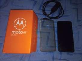 Vendo Motorola E6 Play impecable