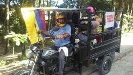 Servicio de Motogrua y transporte en Motocarro