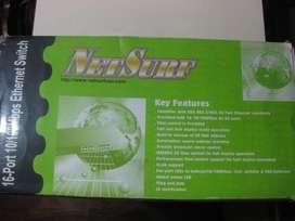 NetSurf Ethernet Switch 16 ports 10/100 Mbps