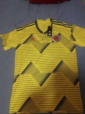 Camisa selección  Colombia autografiada por yepez