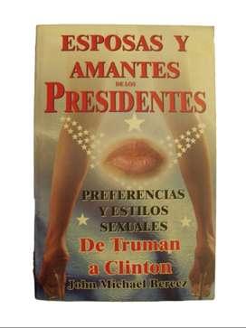Libro Esposas y Amantes de los Presidentes – J. Berecz