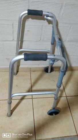 Andadores de aluminio plegable para adultos anciano