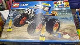 Lego City 60180 192 Piezas Camion Monstruo