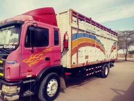Vendo camion en buen estado marca jac con motor cumins