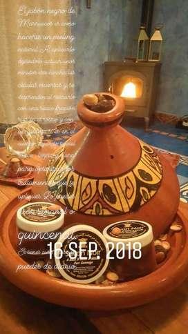 Jabon negro exfoliante de Marruecos