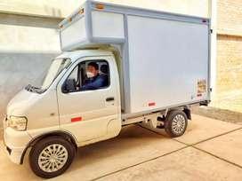 Camión furgón de 1.5 toneladas para operador logístico