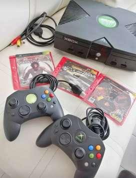 Vendo Xbox clasico.