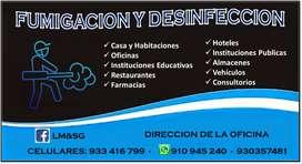 FUMIGACION Y DESINFECCION LM&SG