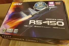 Placa de Video R5450 1GB DDR3