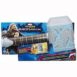 Marvel - Martillo de Thor Ragnarok - Avengers - Hasbro - Regalo Navidad