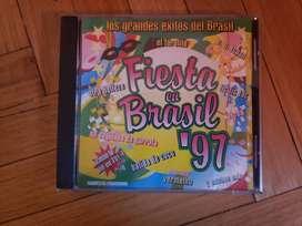 Cd Musica Fiesta En Brasil 97 Grandes Exitos De Brasil