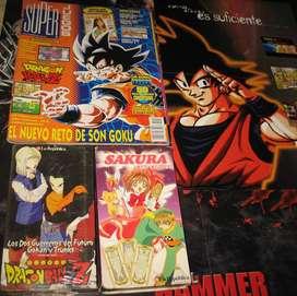 DRAGON BALL Z: REVISTA, VHS Y POSTER