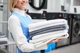 Se lava ropa, acolchados, etc.