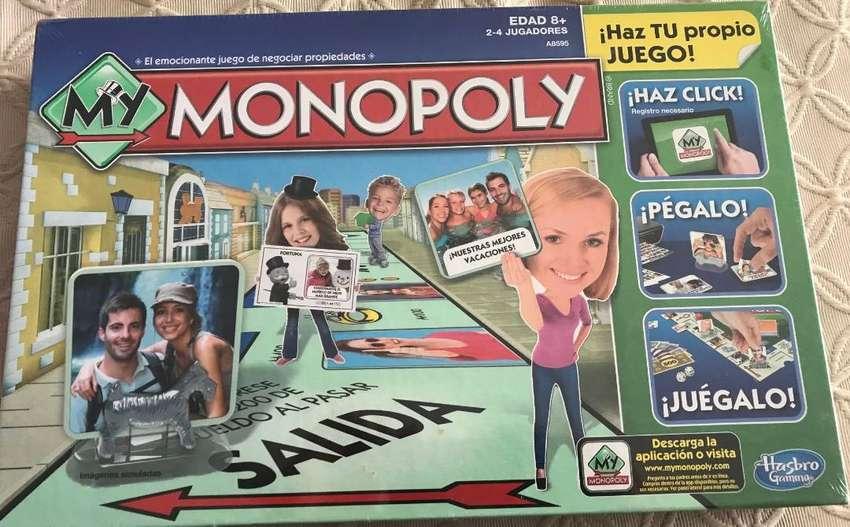Monopolio My Monopoly Nuevo Hasbro 0