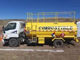 Alquiler de Cisterna de Combustible 1,450 galones