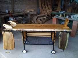 Mesa para asador.