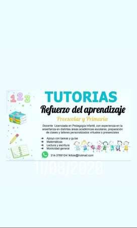 Refuerzos y tutorias vacacionales acadenicas primaria y preescolar en Cundinamarca y Bogota