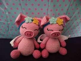 Amigurumis,muñecos tejidos a crochet