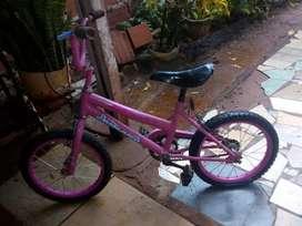 Vendo bicicleta rodado 16 para nena