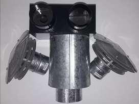 Ventilación TBU para Calefactor Eskabe 5000 calorias