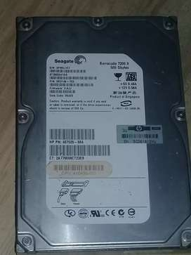 Disco duro Segate Barracuda 500gb