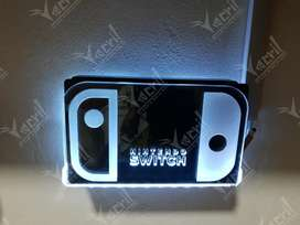 Soporte Base Nintendo Switch Luz Led