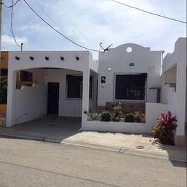 Alquilo Casa en Salinas totalmente Amoblada en conjunto San Martino 2
