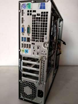CPU HP ELITE DESK AMD A4 -4000/ DDR3 4GB / HDD 320GB
