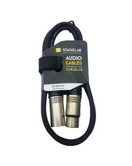 Cable Canon Macho Canon Hembra Xlr Xlr 1 Mt Stagelab!!!