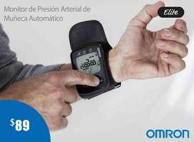 TENSIOMETRO-MONITOR DE PRESIÓN ARTERIAL DE MUÑECA AUTOMÁTICO OMRON ELITE HEM-6221