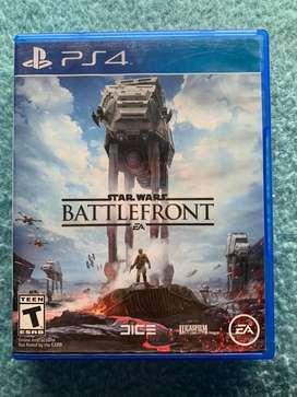 Vendo juego star wars battlefront 1 para PS4 (usado)