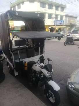 Motocarro para su transporte carpado