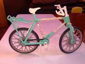 Bicicleta de barbie