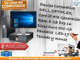DELL OPTIPLEX CORE I5 CUARTA GENERACION
