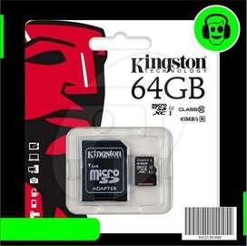 MEMORIA KINGSTON 64 GB  5150 músicas en MP3