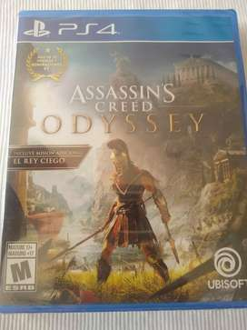 Assassins creed Odyssey nuevo sellado ps4