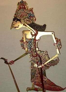 Wayang Kulit. Marioneta Jabanesa JavaIndonesia ORIGINAL