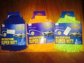 venta lote de guantes de microfibra