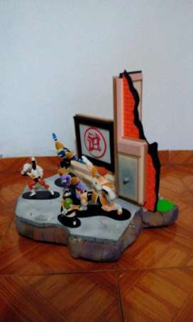 diorama  seleccionado torneo de artes marciales