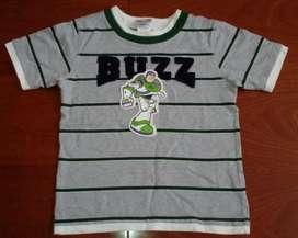 Remera ToyStory Buzz Lightyear Original de Disney