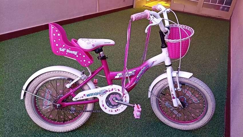 """Bicicleta Raleigh Rodado 16"""" de Nena"""