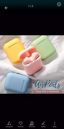 Airpods tonos pasteles