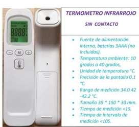 Vendo termómetro infrarrojo