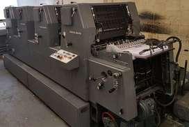 Impresora Heidelberg GTOV 52 de 4 colores Año 1999